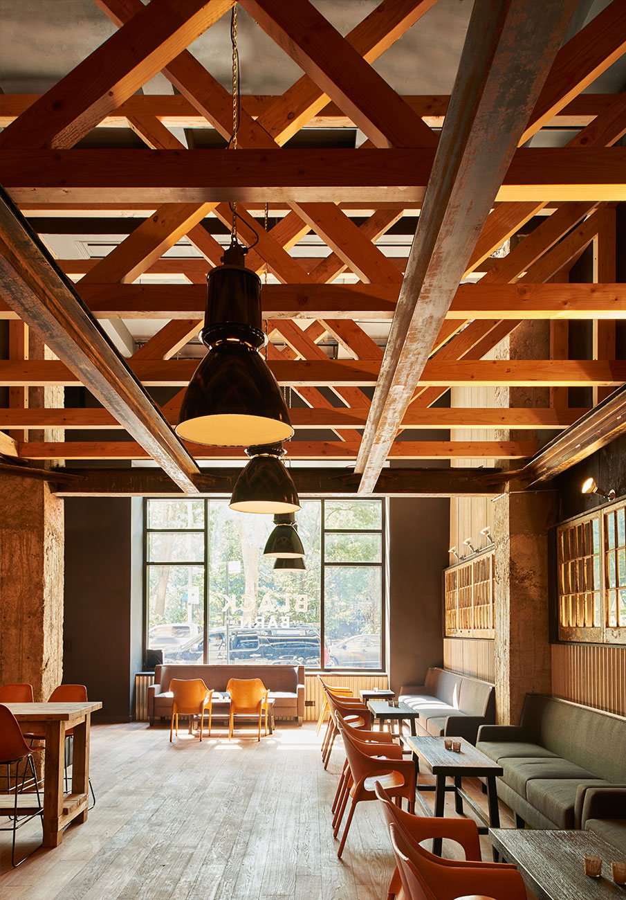 Black Barn Restaurant by Mark Zeff Design