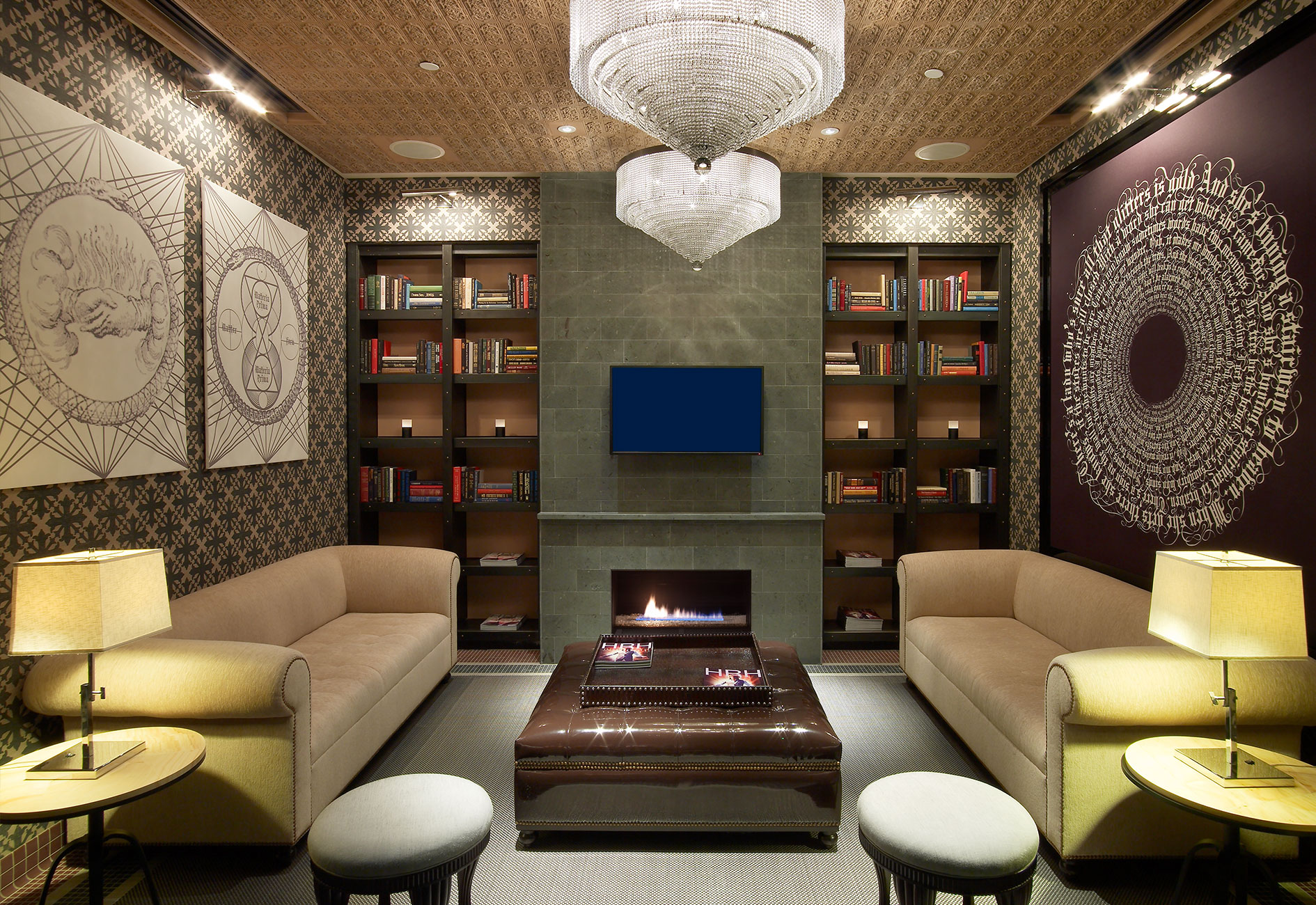 Hard rock hotel spa mark zeff design for A design and color salon little rock