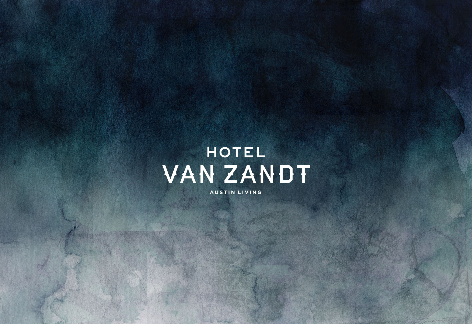 HOTEL VAN ZANDT BRANDING by Mark Zeff Design