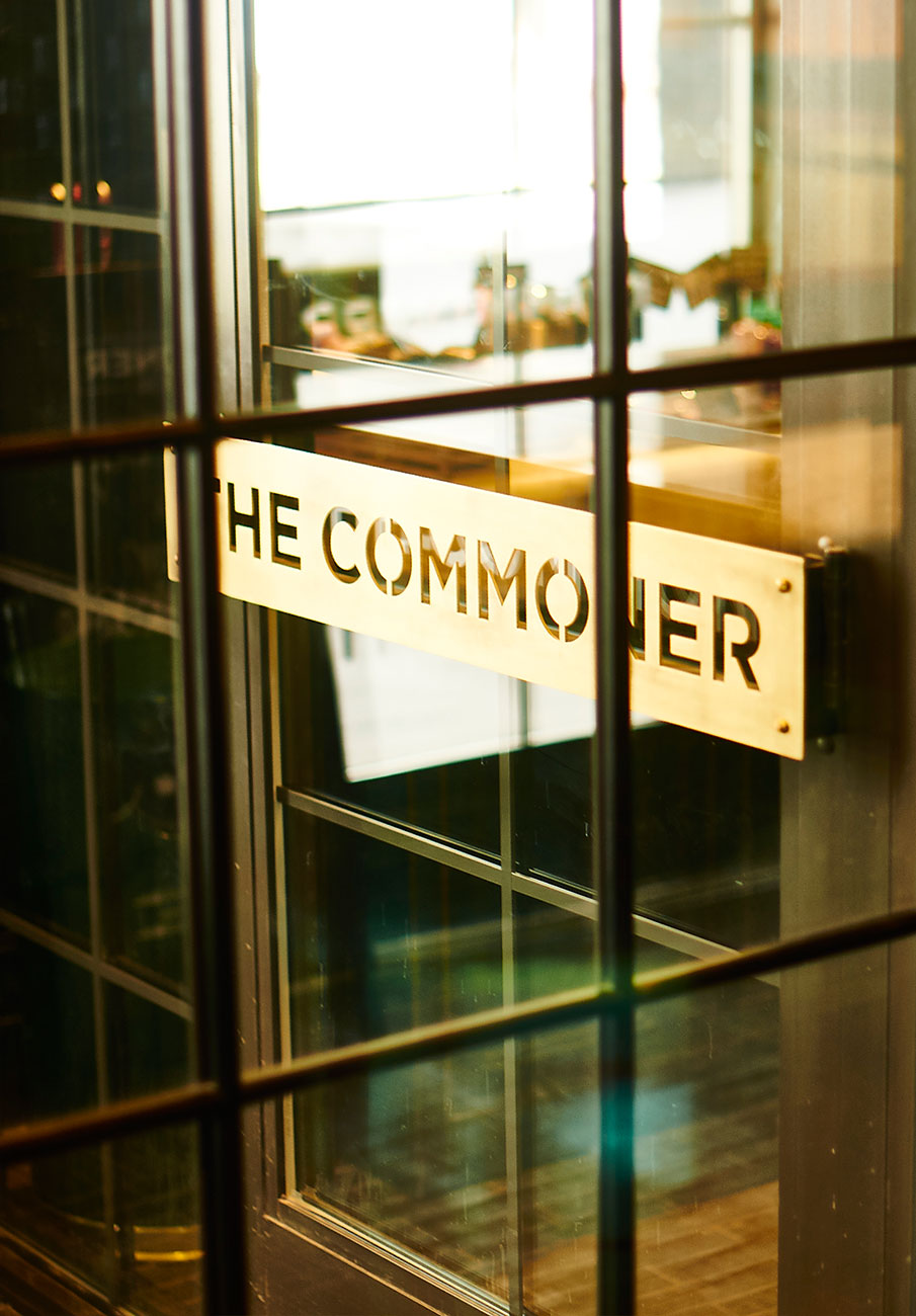 THE COMMONER by Mark Zeff Design