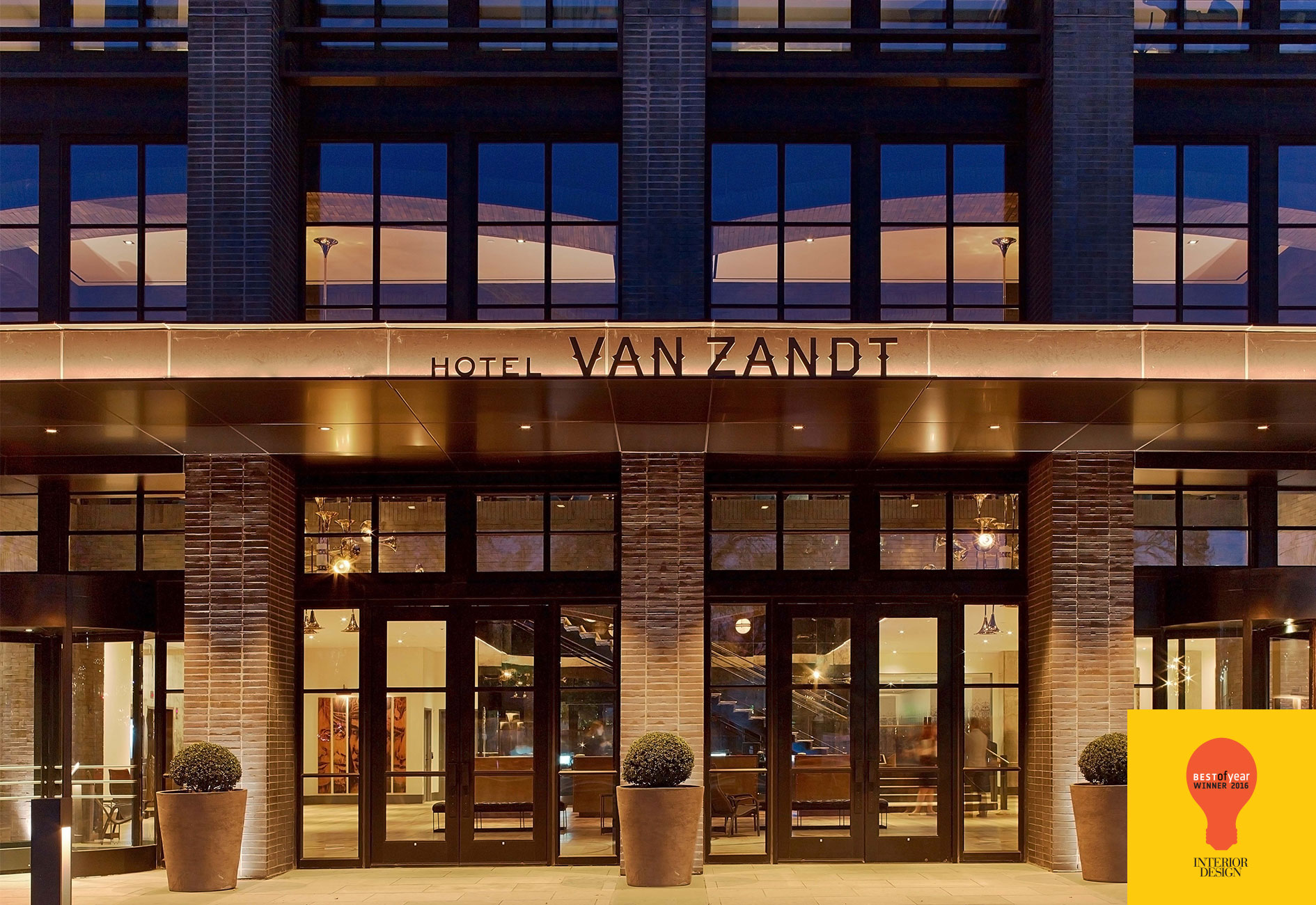 Hotel Van Zandt | Interior Design, Best of the Year 2016