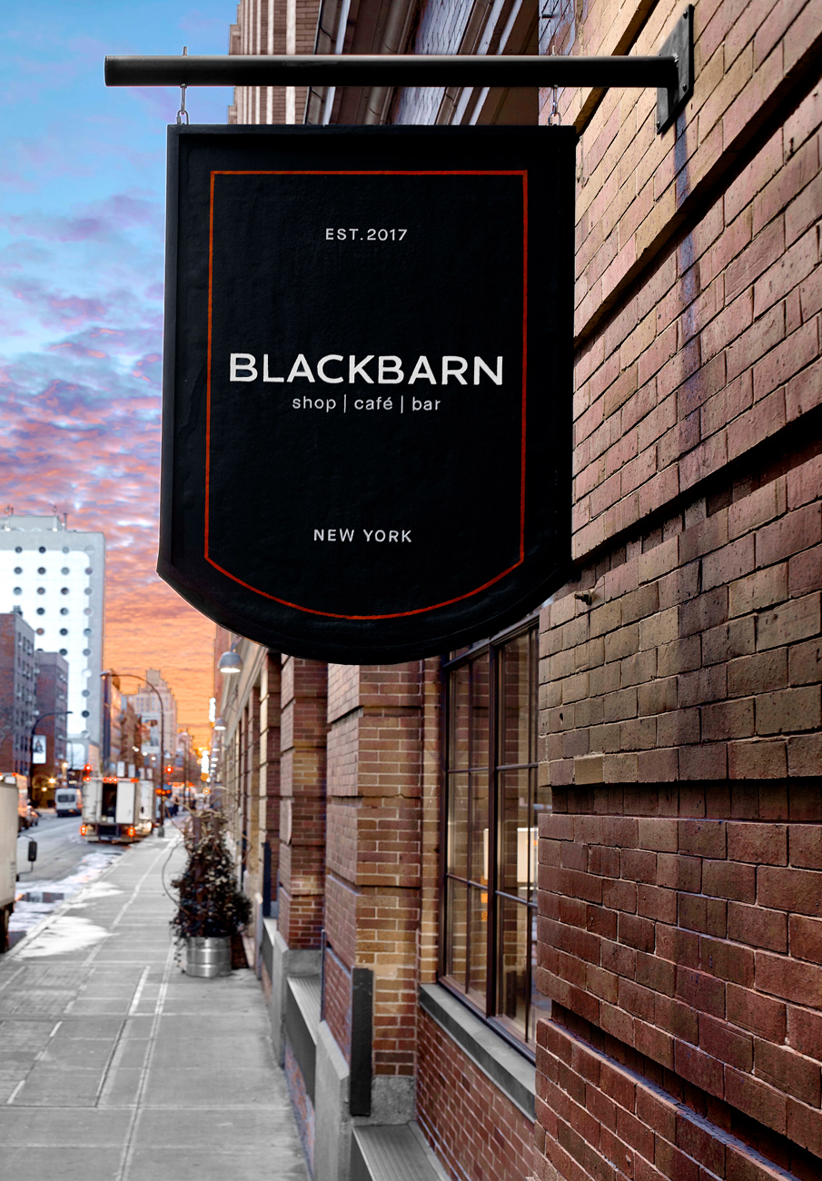 Blackbarn Café & Bar designed by MARKZEFF